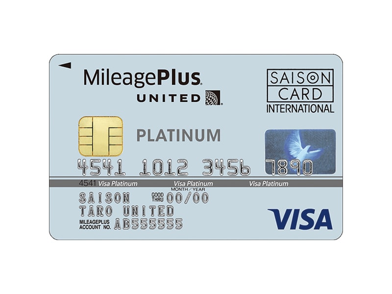 MileagePlusセゾンプラチナカードイメージ