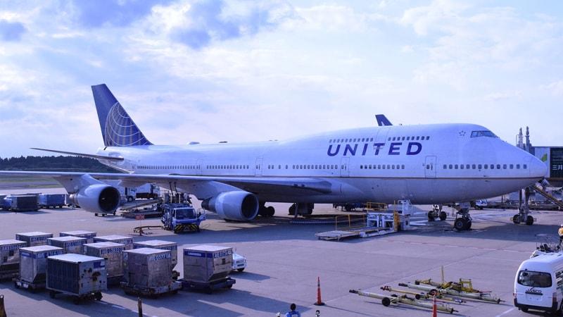 ユナイテッド航空イメージ